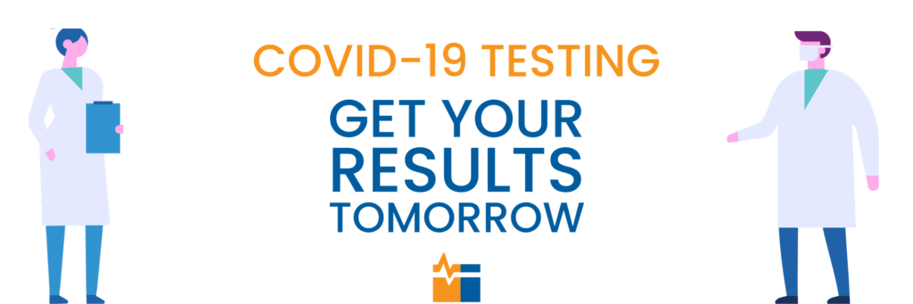 Covid 19 test next day results